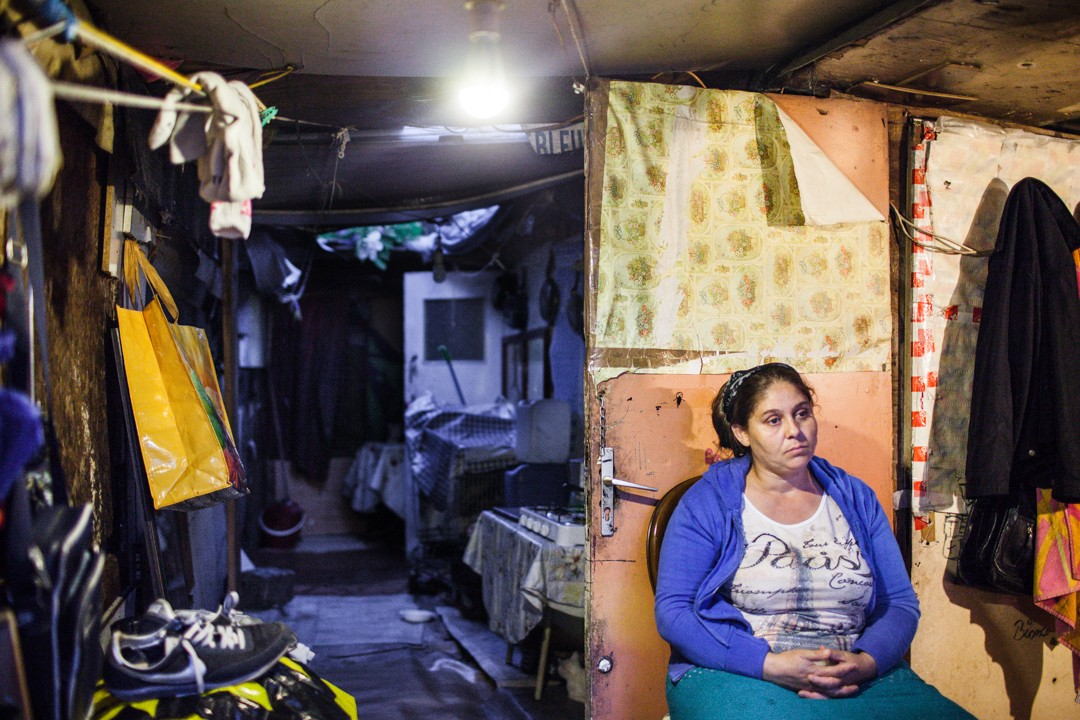 Le «Samaritain», le plus vieux bidonville de France