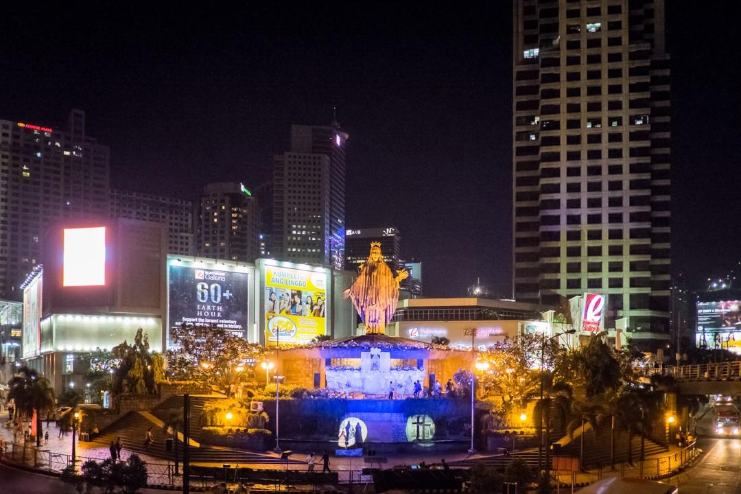 Vigile pascale à Manille